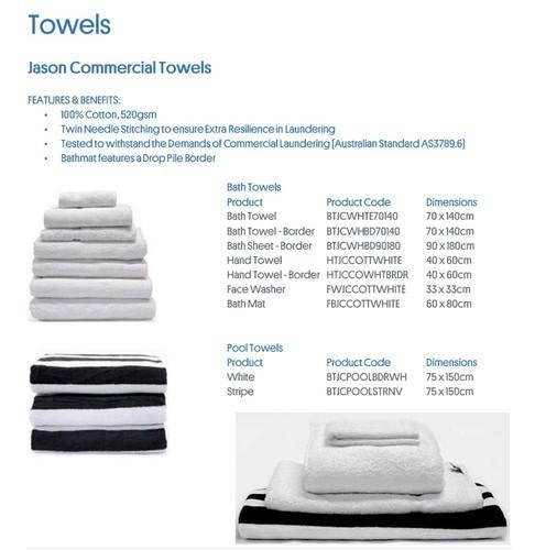 33cm x 33cm Australian Cotton Using This Soft Towel Face Washer