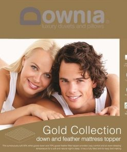 Downia gold mattress topper