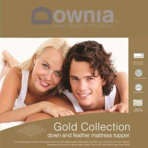 Downia gold mattress topper